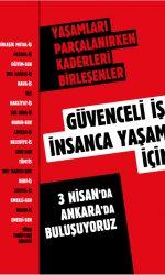 20 emek örgütü 3 Nisan'da Ankara'da buluşuyor